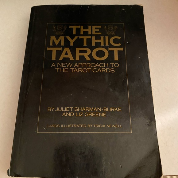 ❌SOLD❌The Mythic Tarot book